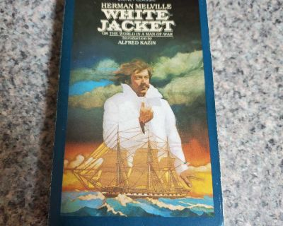HERMAN MELVILLE, WHITE JACKET, EXCELLENT CONDITION, SMOKE FREE HOUSE