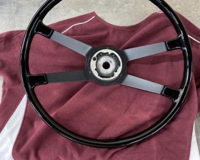 Restored 911 steering wheel