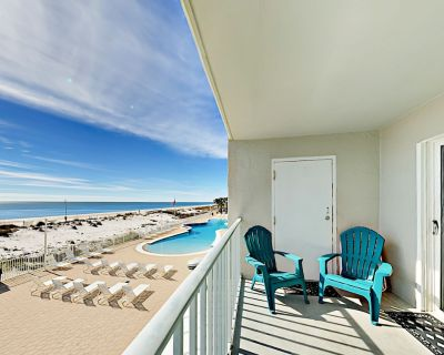 Oceanfront Gulf Shores Condo with Balcony | Largest Pool in Region! - Gulf Shores