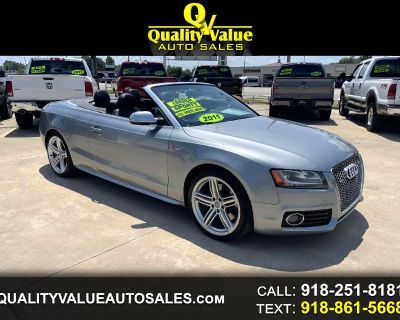 2011 Audi S5 Supercharged All Wheel Drive Convertible Prestige