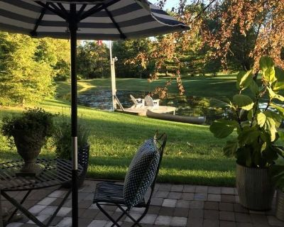 Designer French Country guest suite close to Ann Arbor, U of Michigan,TOYOTA - York Charter Township