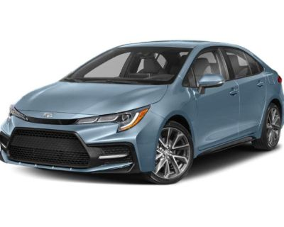 Pre-Owned 2021 Toyota Corolla SE FWD 4dr Car