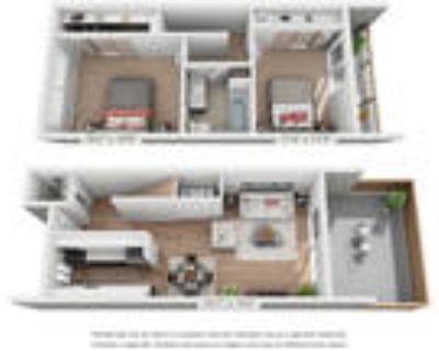 Halford Gardens - Two Bedroom-Townhouse-One and One Half Bath