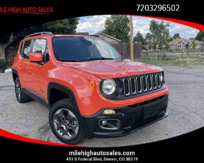 2017 Jeep Renegade for sale