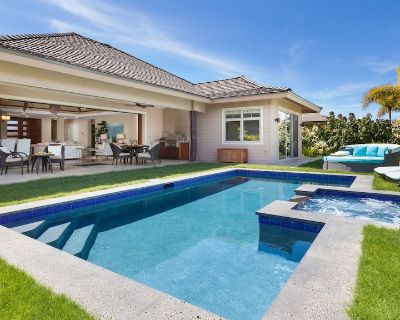PiH BLUE LAGOON Heated Private Pool & Spa Large Home with Private Cottage - Puako