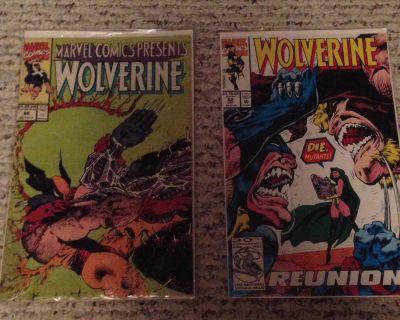 Classic X-Men/Wolverine comics