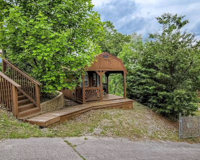 Charming Tiny Home w/Free WiFi, Mountain Views, Partial A/C, Patio, Kitchenette - Pigeon Forge
