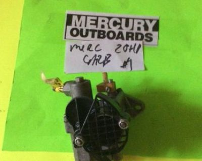 Mercury Mariner Outboard 20hp Carb Carburetor 2cly 1981 Down