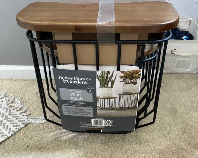 New!!! Plant stands/end tables