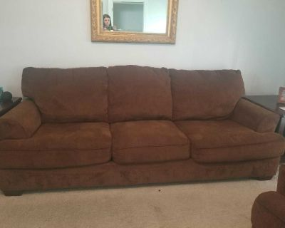 Couch and oversize chair
