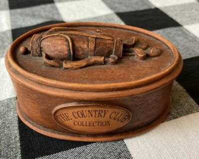 Country Club Collection Golf Trinket Box