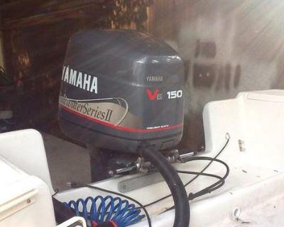 "1998 Yamaha Saltwater Series Ii 150hp Motor 25"" Shaft"