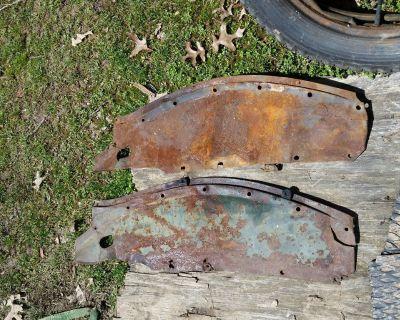 1935 1936 1937 Ford Pickup Inner  3 Fenders OEM RARE TRUCK 35 36 37 FLATHEAD