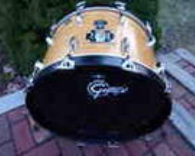 Gretsch 22 Natural Maple Bass Drum Usa