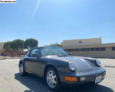 1991 Porsche C2 Targa Slate grey/Grey15,900 Miles