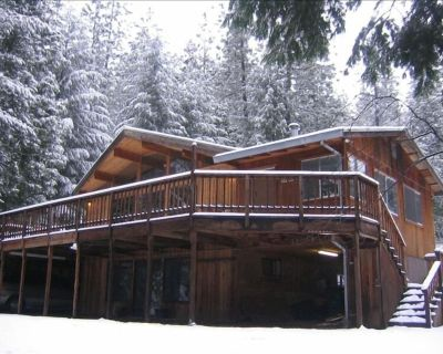 Gorgeous Cedar Cabin on 5 Acres in Forest by Lake- 2 Cabins in 1 - Pollock Pines