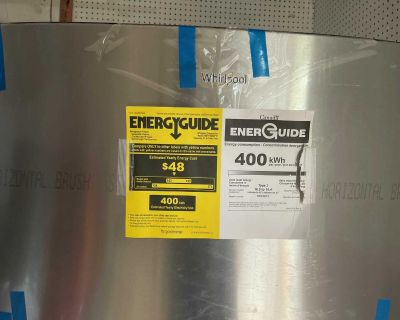 New Whirlpool Refrigerator