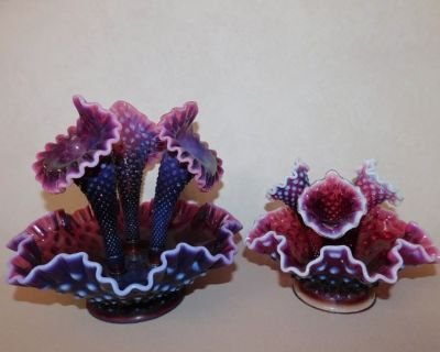 FENTON, IMPERIAL & WESTMORELAND GLASS AUCTION - PENCE AUCTION