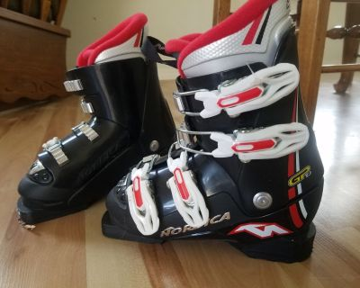Kids Nordica Skis and Boots