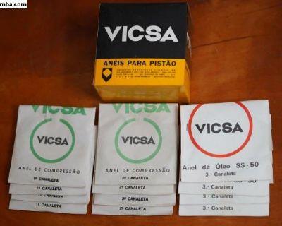 NOS Piston Ring Set Vicsa (111 198 257 A) Brazil