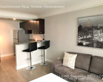 Furnished 1 Bed / 1 Bath - North Cap Hill - Month to Month Leasing, All Utilities Included, 1 Block From Capitol