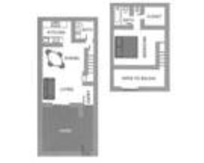 Townhomes on the Park Apartment Homes - One Bedroom One Bath One Half Bath