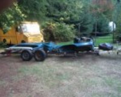 Leftover '66 Travelall body parts near Monroe, WA
