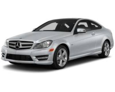2013 Mercedes-Benz C-Class C 250 Coupe RWD
