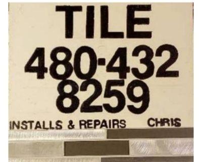 Ceramic tile installation and repairs