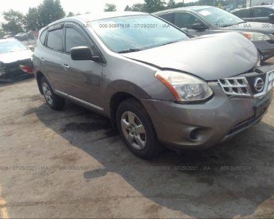Salvage Gray 2012 Nissan Rogue