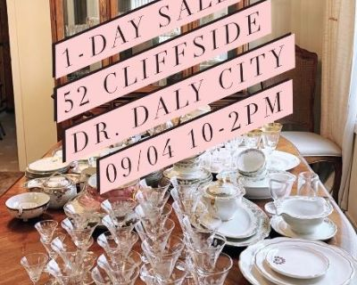1-Day Only Daly City Estate Sales, Everything must go!