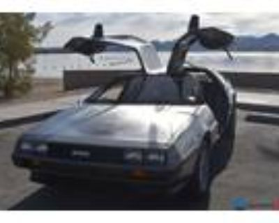 1981 DeLorean DMC-12 Stainless-Steel V6