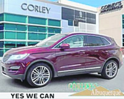 LINCOLN 2016 MKC Reserve, Automatic, All Wheel Drive, 6 Speed, 102k miles, Stock...