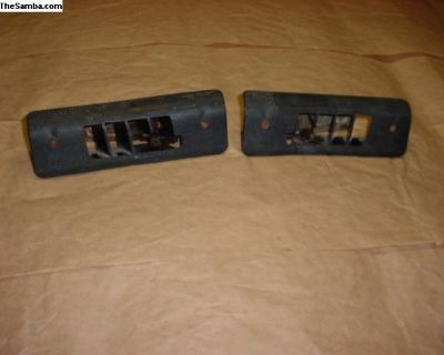 Rare To Find Pair Ghia Front Floor Vents