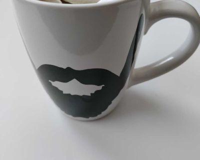 Ceramic Men's Beard Coffee Mug