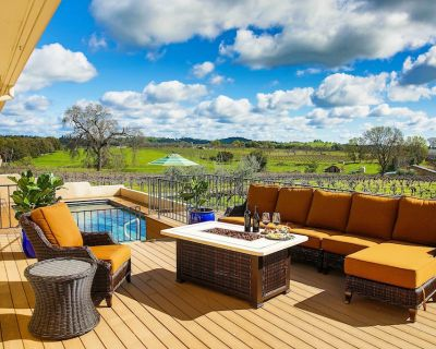 Working Vineyard Villa w/Private Pool in Plymouth! - Shenandoah Valley