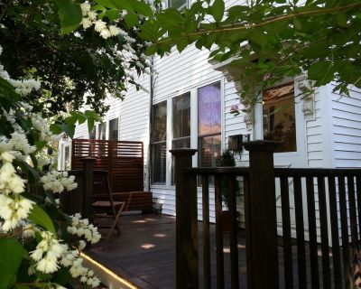 "Maria's JP Rental - Boston Duplex in Popular Jamaica Plain (""JP"") area - Jamaica Plain"