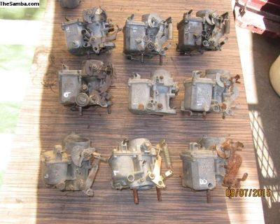 carburetors for parts or to be rebuilt