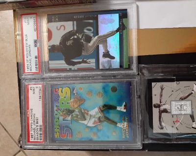 Michael Jordan cards PSA
