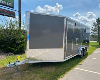 2022 Stealth Trailers 7.5x18 Snowmobile Trailers Kaukauna, WI