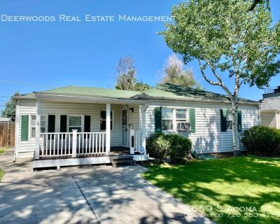 Hardwood Floors, Detached Garage, Spacious Backyard & Patio, Harvard Gulch Rec Center Close By