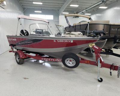 2013 Crestliner 1750 Super Hawk Ski & Fish Boats Kaukauna, WI