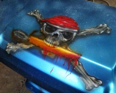 Ezgo And Club Car Custom Painted Bodies Underwater Scene