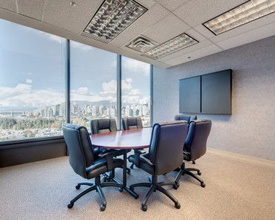 Executive Meeting Room at W Broadway, Vancouver