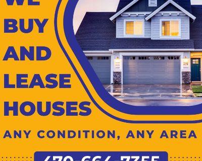 We Buy & Lease Houses