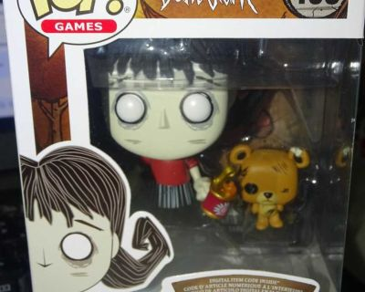 FUNKO POP DON'T STARVE WILLOW AND BERNIE