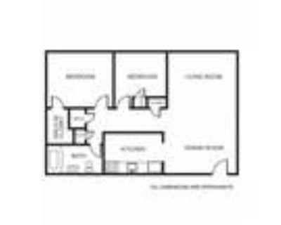 Apollo Apartments - 2B Floor Plan
