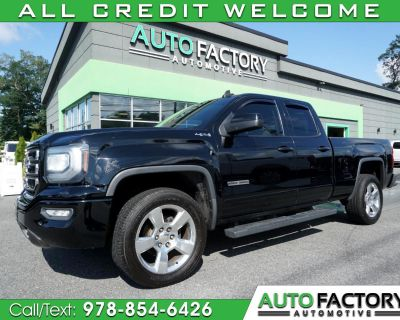 Used 2017 GMC Sierra 1500 4WD DOUBLE CAB ELEVATION