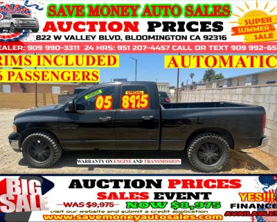 2005 Dodge Ram 1500 AUTOMATIC> RIMS INCLUDED> 6 PASSENGERS