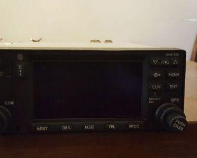 New Garmin Gnc 420a 16 Watt Transmitter Gps/comm With Fresh Faa Form 8130